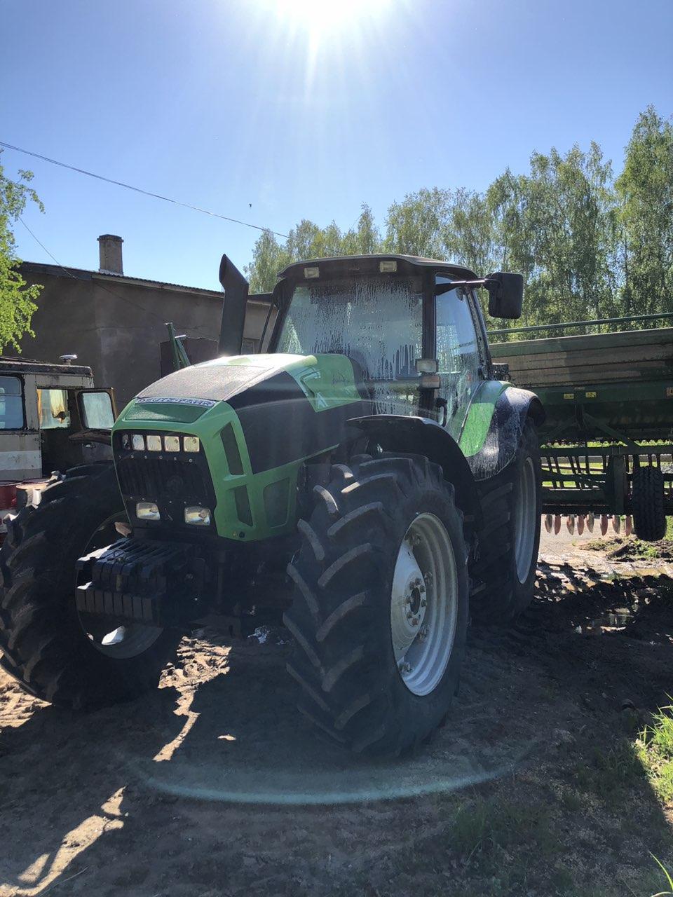 Трактор Дойц Фар L720 4,3 млн.руб. с НДС