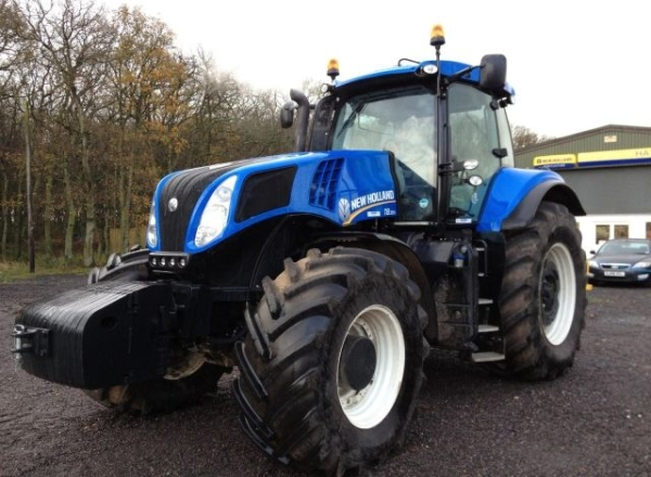 Трактор New Holland T8.390 (2011 г.в) бу